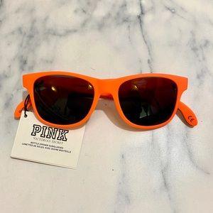 VS PINK Neon Coral Bottle Opener Sunglasses